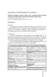 Reazioni da ipeRsensibilità a faRmaci - Maurizio Severino - Home ...