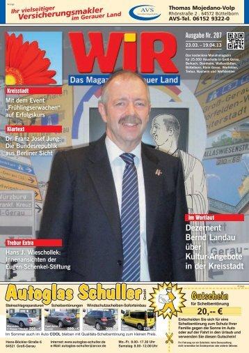 Kultur - Das WIR-Magazin im Gerauer Land