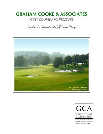 GCA Company Brochure - Graham Cooke & Associates