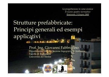 Strutture prefabbricate - Università del Sannio