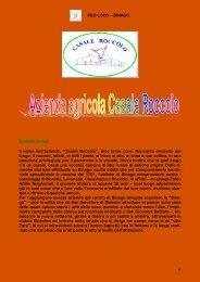 azienda agricola Casale Roccolo - Pro Loco Binago