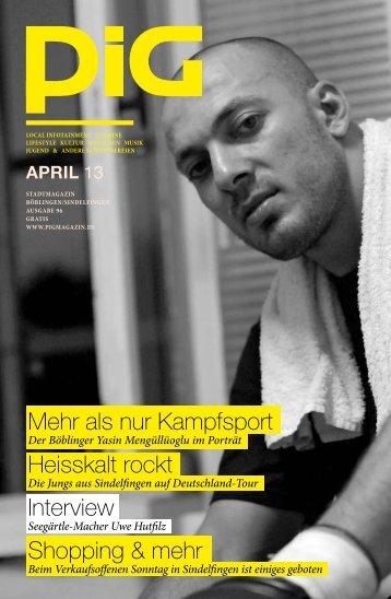 Mehr als nur Kampfsport Heisskalt rockt Interview ... - PIGmagazin