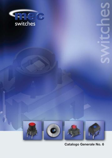 Catalogo Generale No. 6 - Mec switches