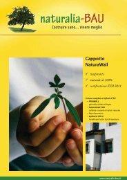 Cappotto NaturaWall - Naturalia Bau