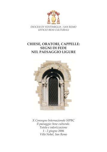 chiese, oratori, cappelle - Chiesa Cattolica Italiana