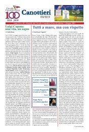 Scarica il PDF del Giornale – Giugno 2011 - Circolo Canottieri Irno ...