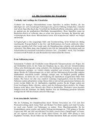 Die Geschichte der Eisenbahn - Wirsberg-Gymnasium