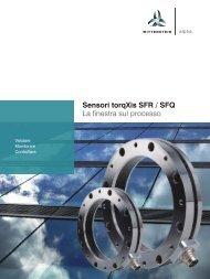 Sensori torqXis SFR / SFQ - WITTENSTEIN alpha