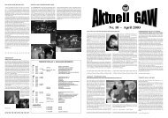 gaw aktuell, Ausgabe 10, 04-03 - Gymnasium am Wirteltor Düren