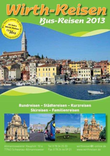 Spanienfahrten - Wirth Reisen