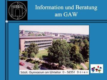 G8 - Gymnasium am Wirteltor Düren
