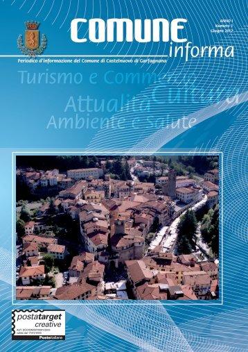 Numero 1 - Giugno 2012 - Comune di Castelnuovo di Garfagnana