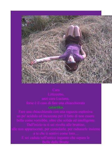 Cara Littizzetto, anzi cara Luciana, forse è il caso di ... - invidiablog