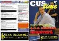 Cus time n.6 - CUS Torino