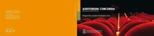 Auditorium ConCordiA - Provincia di Pordenone
