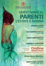 Leggi il programma - Sonia Bergamasco