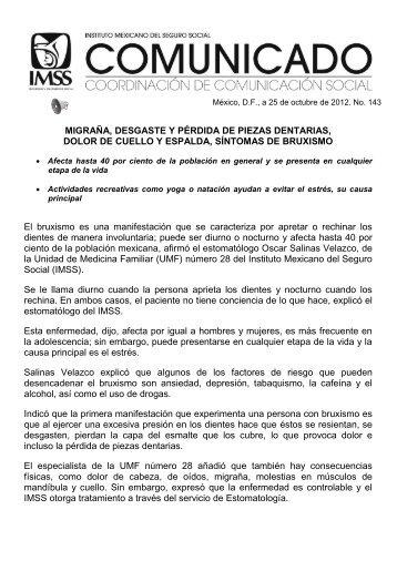 Versión PDF - Instituto Mexicano del Seguro Social