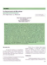 La Importancia del Bruxismo The Importance of Bruxism - - -----