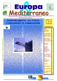 bollettino n. 28 del 17/07/2009 - Antenna Europe Direct – Carrefour ...