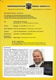 Einldung UtzClaassen 2012 v6.cdr - Wirtschaftsclub Rhein-Main e.V.