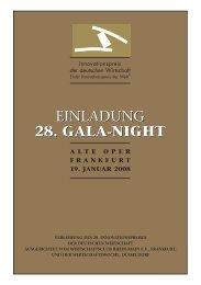 28. gala-night - Wirtschaftsclub Rhein-Main e.V.