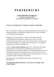 P E R S B E R I C H T - Anne Zernike