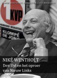 Niké Wentholt (pdf) - Jonge Historici Schrijven Geschiedenis