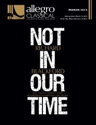 Download the March Classical - Allegro Music