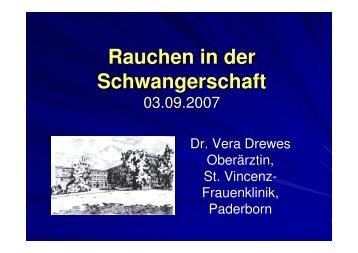 Vortrag Rauchen in der Schwangerschaft power ... - Kreis Paderborn
