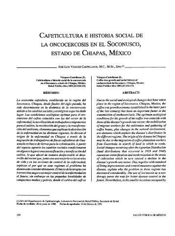 CAFETICULTURA E HISTORIA SOCIAL DE