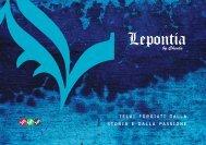 Brochure_Lepontia - Cicli Lepontia by Cheula