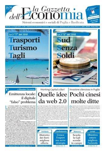 GE 26_10.indd - La Gazzetta dell'Economia