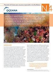 areas marinas protegidas: una herramienta para combatir ... - Oceana