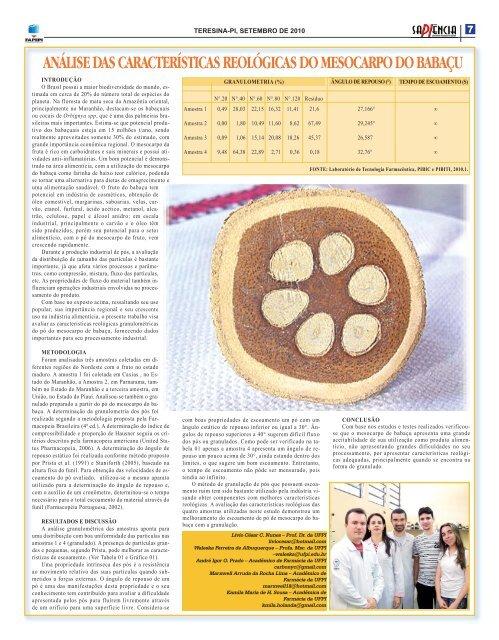 Jornal Sapiencia Internet ESPECIAL ARTIGOS_Layout 1.qxd