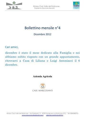 N. 04 Dicembre - Rotary Club Valle del Rubicone