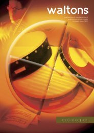 Catalogue 2003 - Waltons