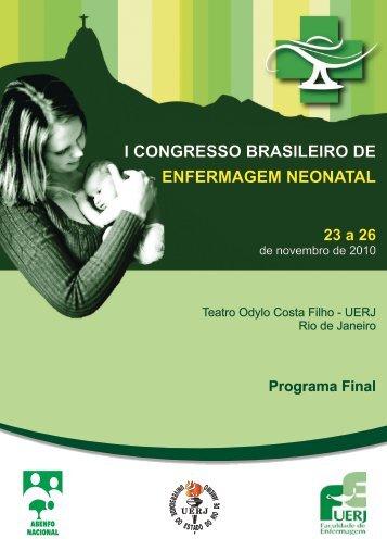 i congresso brasileiro de enfermagem neonatal - ABENFO-Nacional
