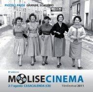 Programma MoliseCinema 2011