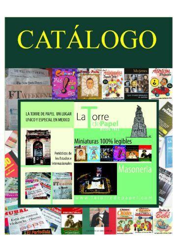 Catálogo en PDF - La Torre de papel