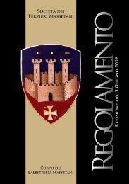 03 – Regolamento Balestrieri (pdf) - Società dei Terzieri Massetani