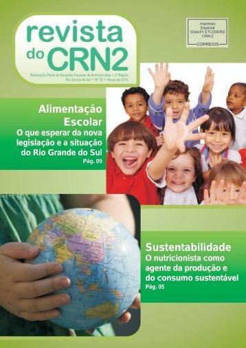 Alimentação Escolar Sustentabilidade - CRN 2
