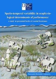 a study in perennial herbs of coastal foredunes
