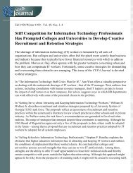 Stiff Competition for Information Technology ... - CUPA-HR