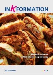 Tlačové farby na potlač obalov na potraviny - Europapier