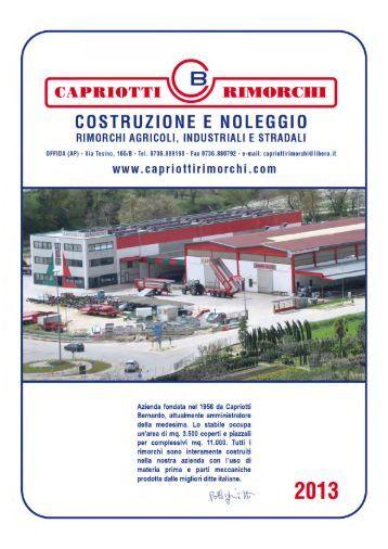 Rimorchi dumper grazioli remac for Capriotti rimorchi agricoli