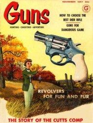 GUNS Magazine November 1957 - Jeffersonian's Home Page