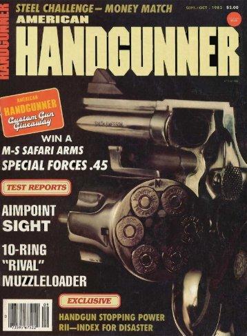 Sept/Oct 1982 - American Handgunner