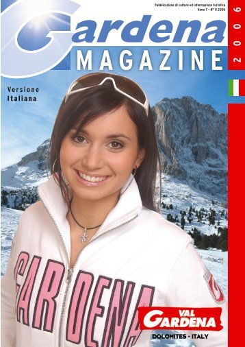 Scarica PDF Gardena Magazine 2006 - Snowevents
