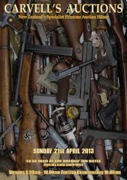 Catalogue out now - Carvells Gun Auctions