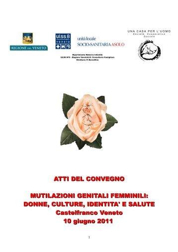 ATTI DEL CONVEGNO MUTILAZIONI GENITALI FEMMINILI ...